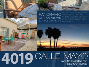 4019 Calle Mayo San Clemente Graphic Design
