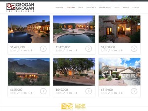 Grogan & Grogan Tucson Real Estate Web Design