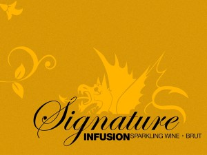 Infusion Lounge Wine San Francisco Graphic Design