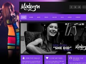 Madasen McGrath Web Design
