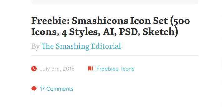 Smashing Magazine Icon Freebie