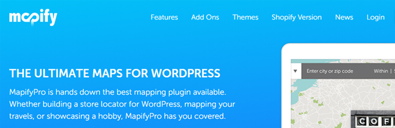 Mapify WordPress Store Locator Plugin