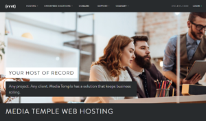 MediaTemple web hosting services