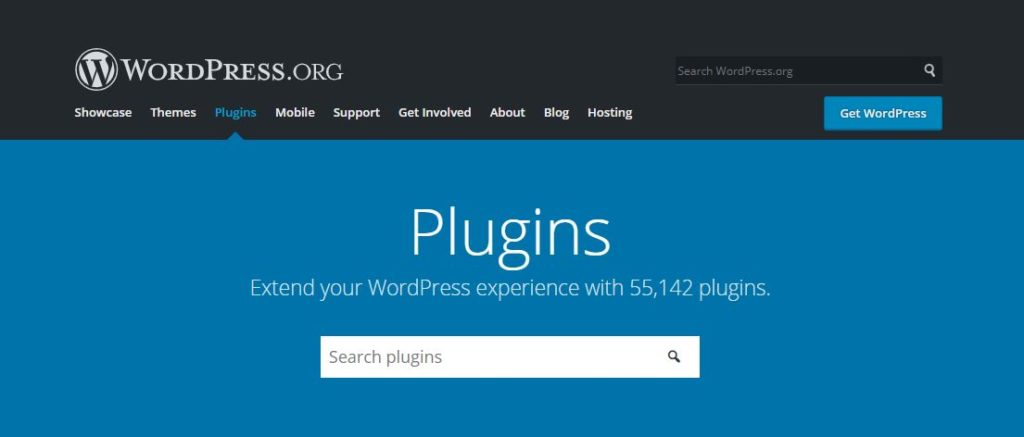 WordPress plugins website