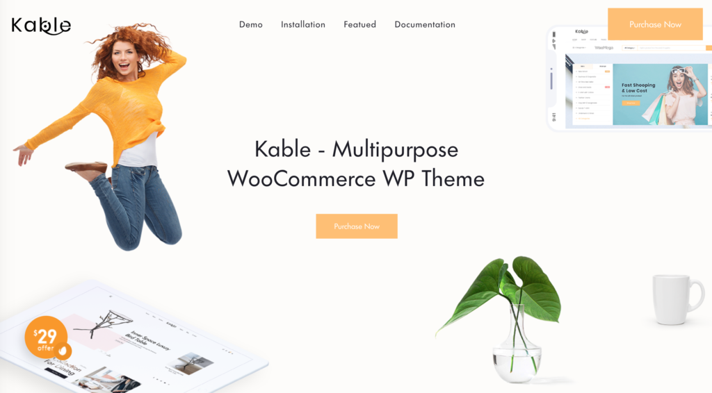 Kable eCommerce WordPress Theme