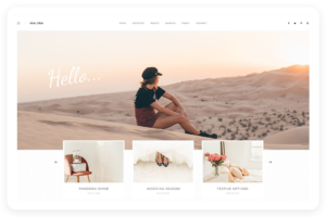 Malina WordPress Blog Theme