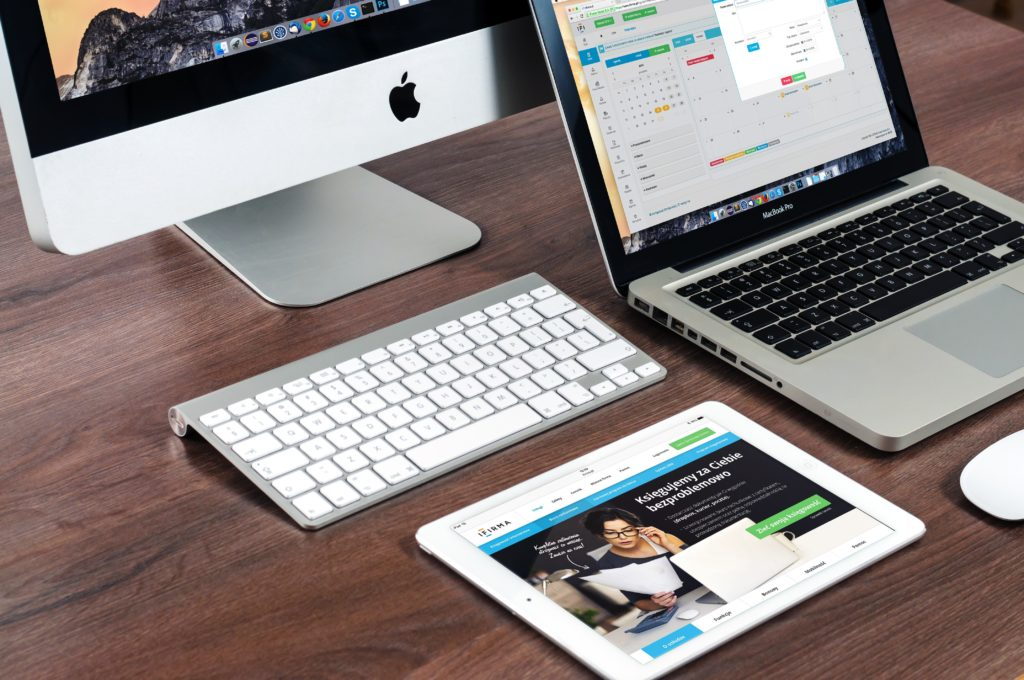 apple products for website management