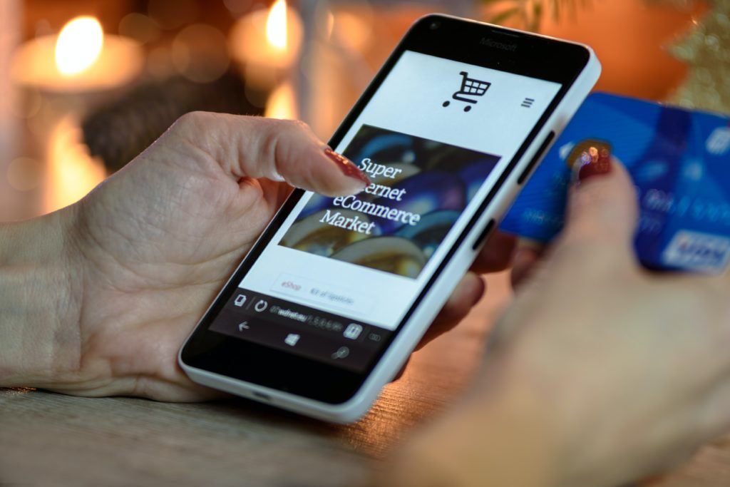 responsive mobile ecommerce site